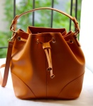 Mango Tan Bucket Bag
