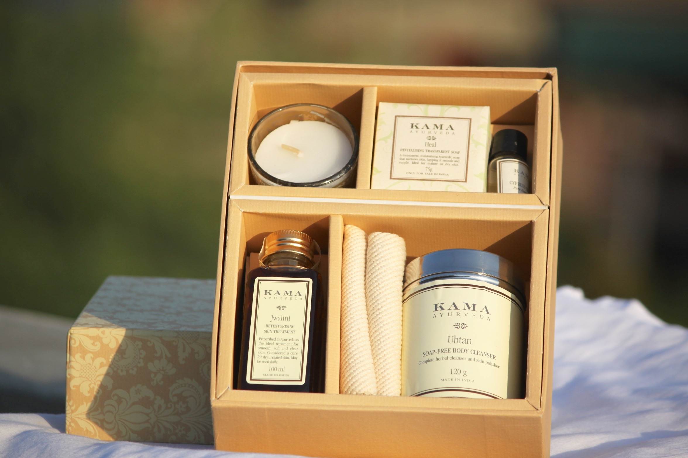 Kama Ayurveda, Luxury Home Spa Kit, Pamper night, Kama Ayurveda home spa