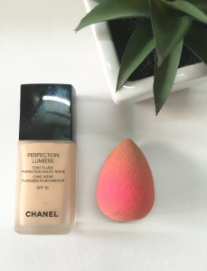 chanel foundation, chanel perfection luimere foundation