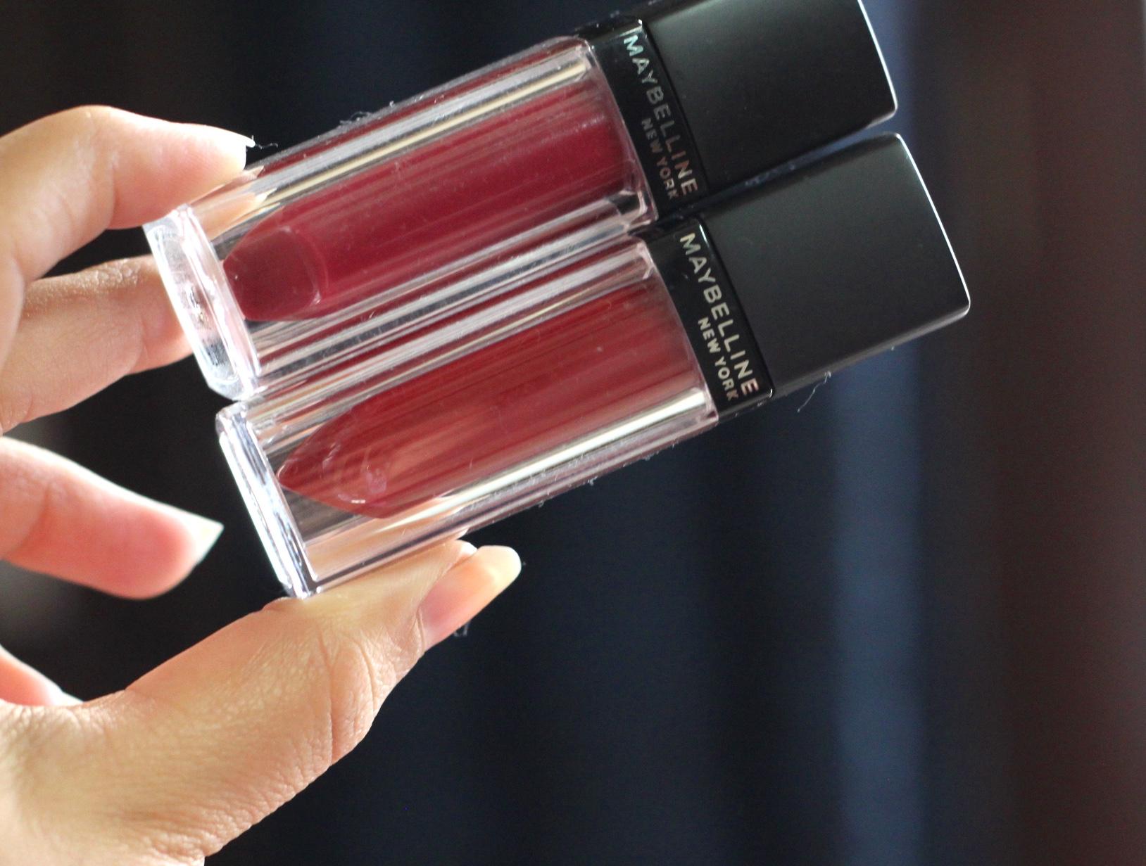 Maybelline Velvet Matte Liquid Lipstick, maybelline liquid lipstick, maybelline matt lipstick, liquid lipstick, velvet matte, matt 6, matt 11