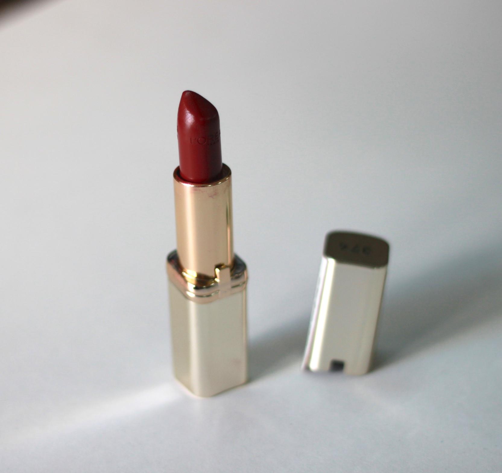 top 5 winter lipsticks, winter lipsticks, MAC ruby woo, maybelline velvet mat, fleur de force, mac soar, kat von d, loreal color riche intense plum