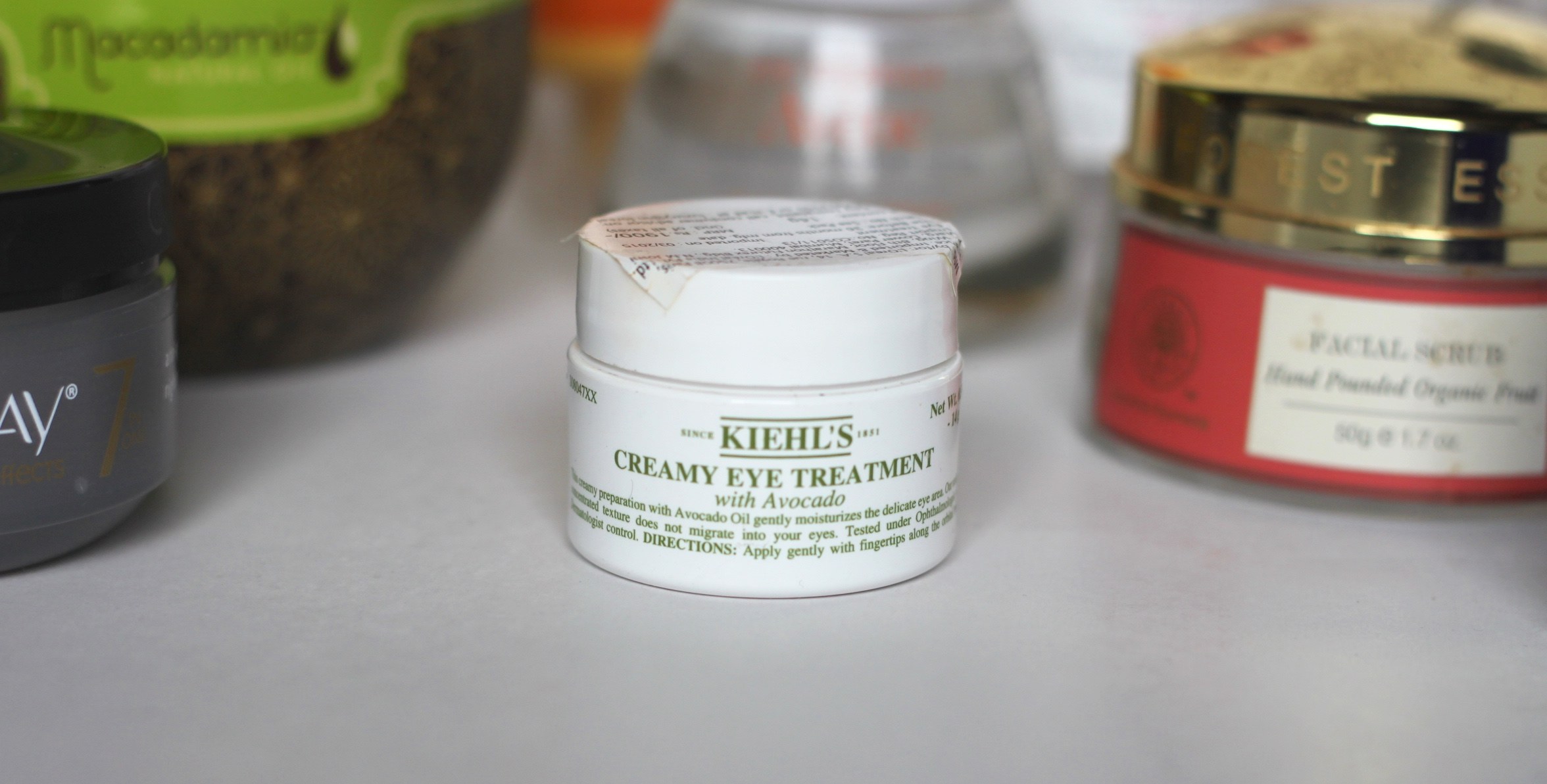 My 2015 Skincare Favorites, kiehls creamy eye cream