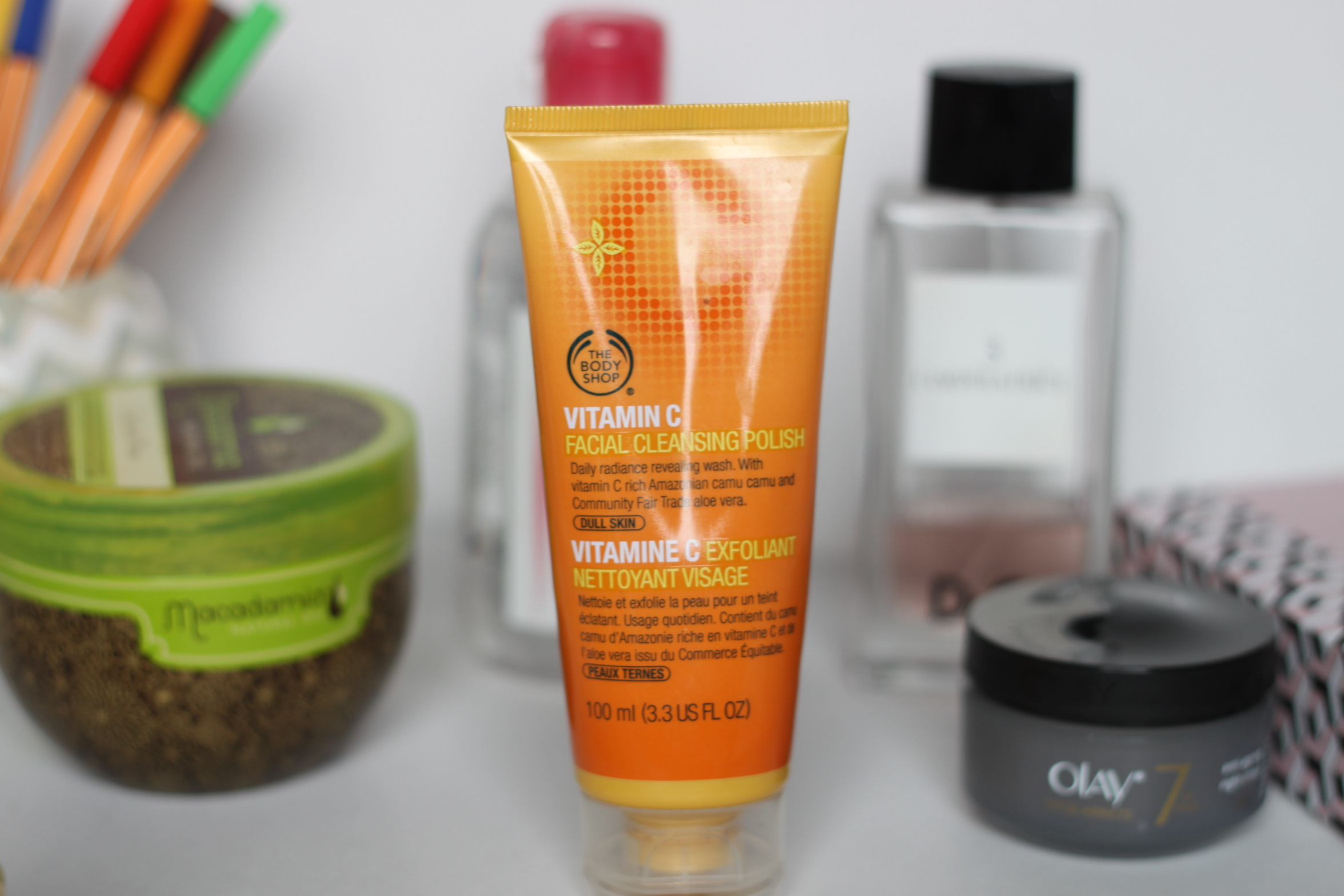 My 2015 Skincare Favorites, the body shop vitamin c facial claansing polish