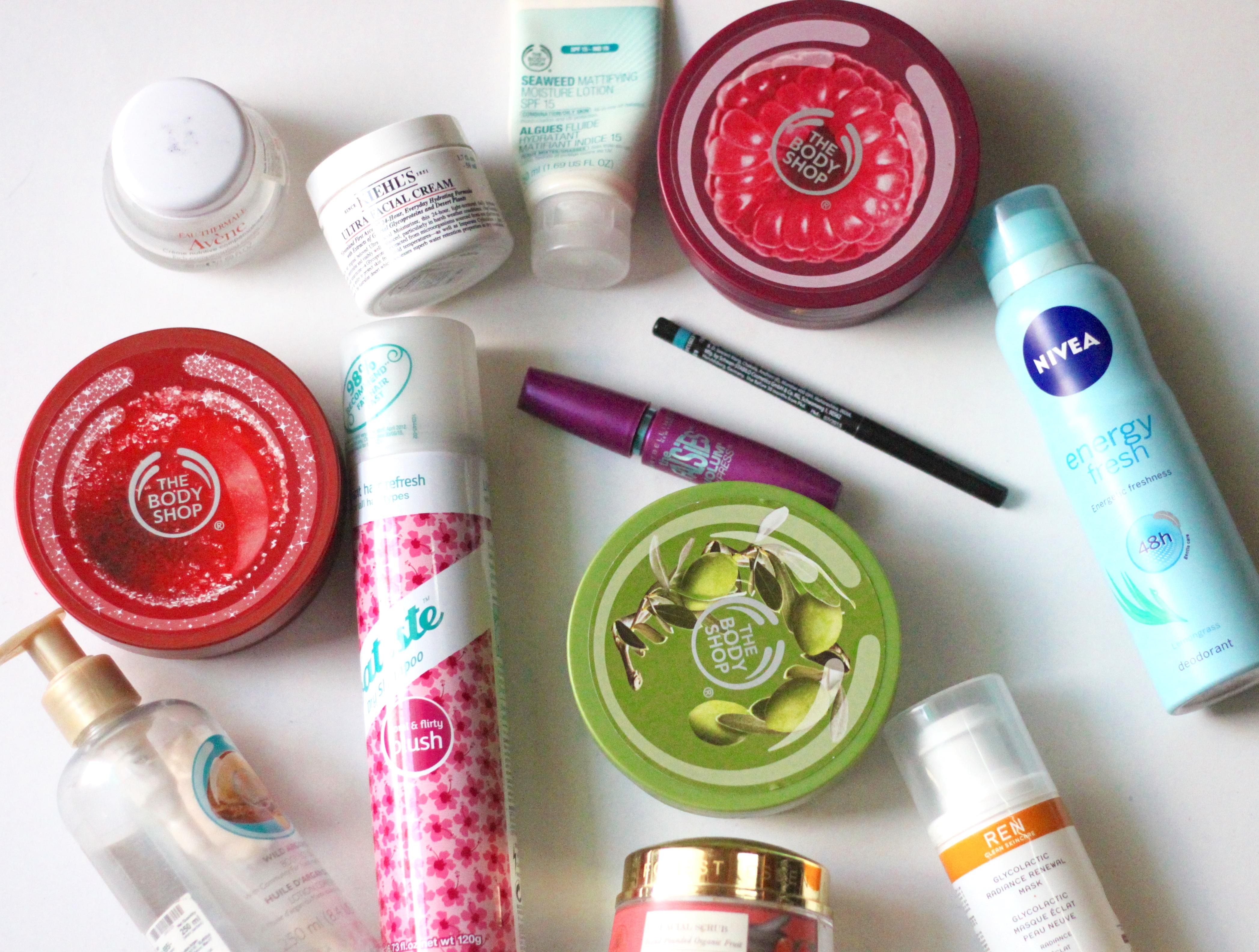 empties, empty products, empties makeup, empties skincare,